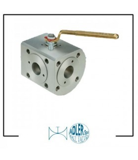 ADLER- Ball valves 3 way